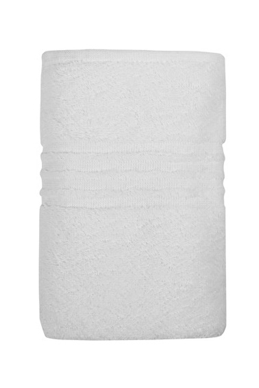 İrya Linear Örme Havlu Beyaz Beyaz